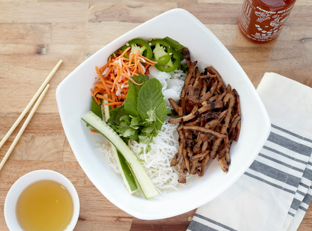 Pork Vermicelli Bowl by Chef John Tran