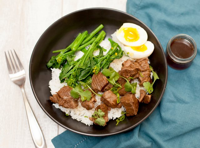 Chinese Red Braised Beef by Chef Steve Shafer