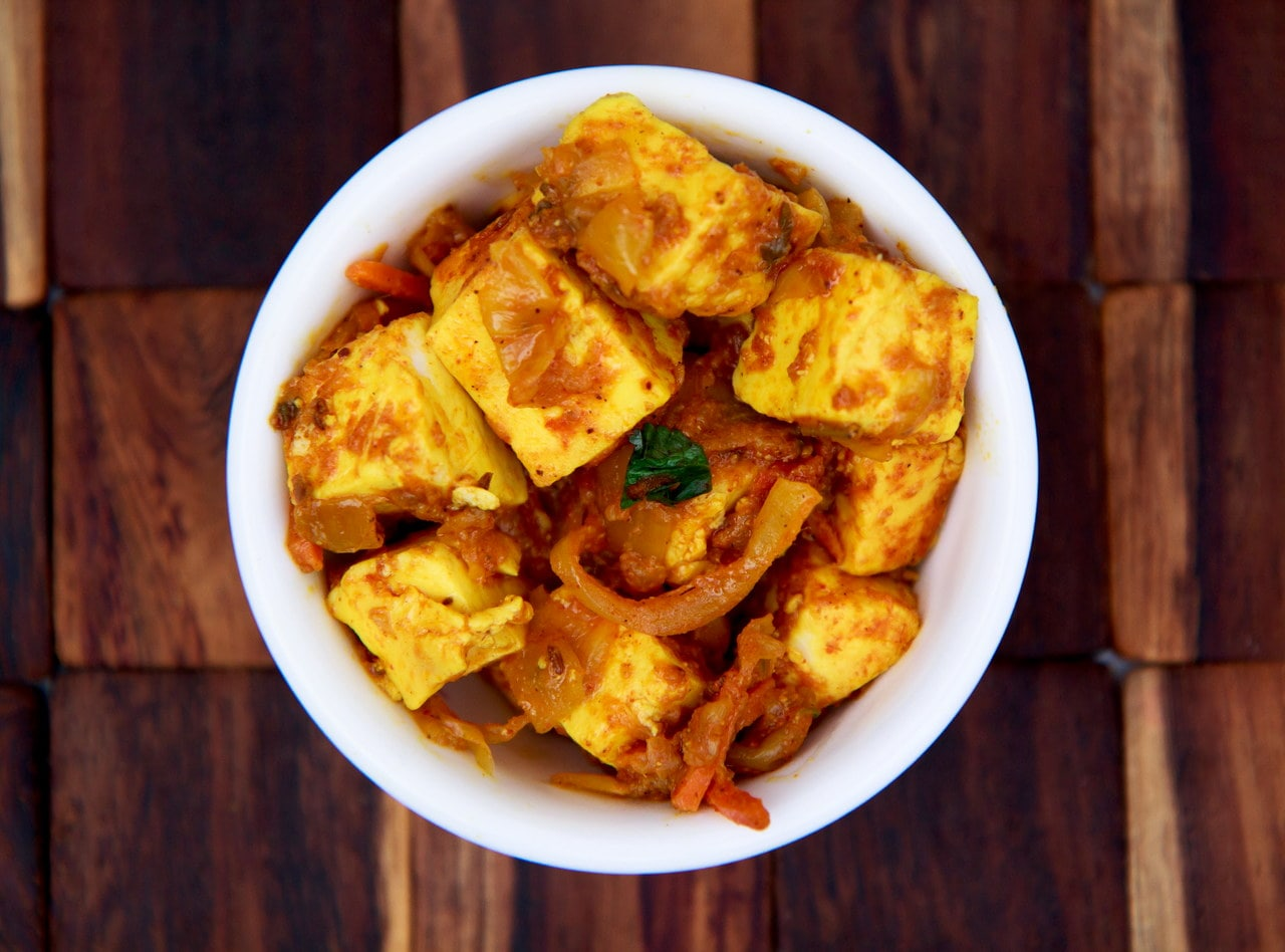 Side of Paneer Masala by Chef Anubha Singh