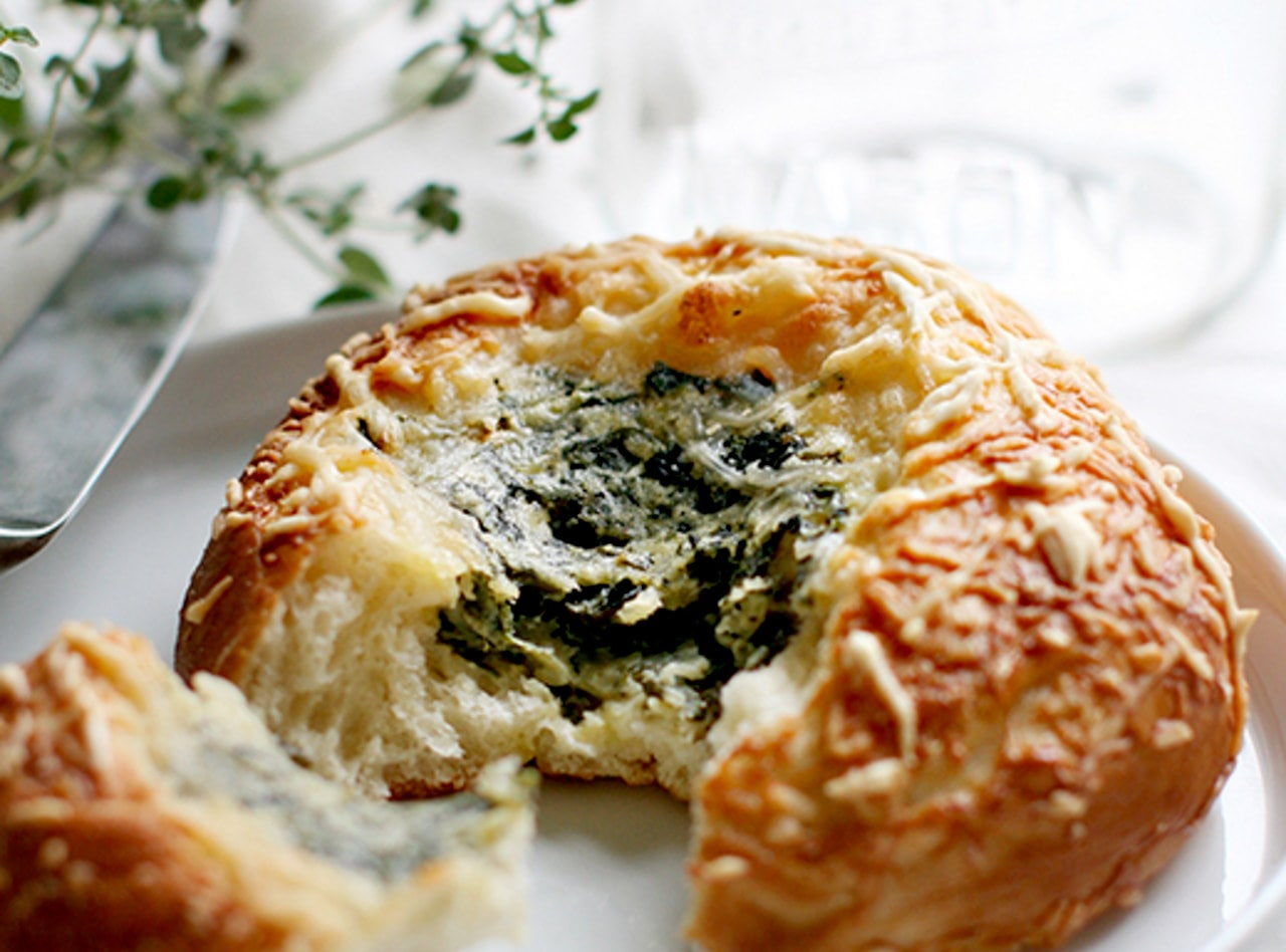 Macrina Spinach and Cheese Bun by Macrina Bakery