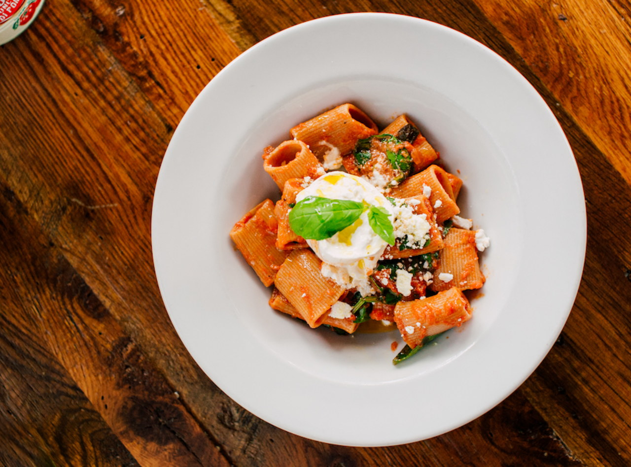 Rigatoni with Traditional Bolognese Ragu by Chef Filippo Fiori