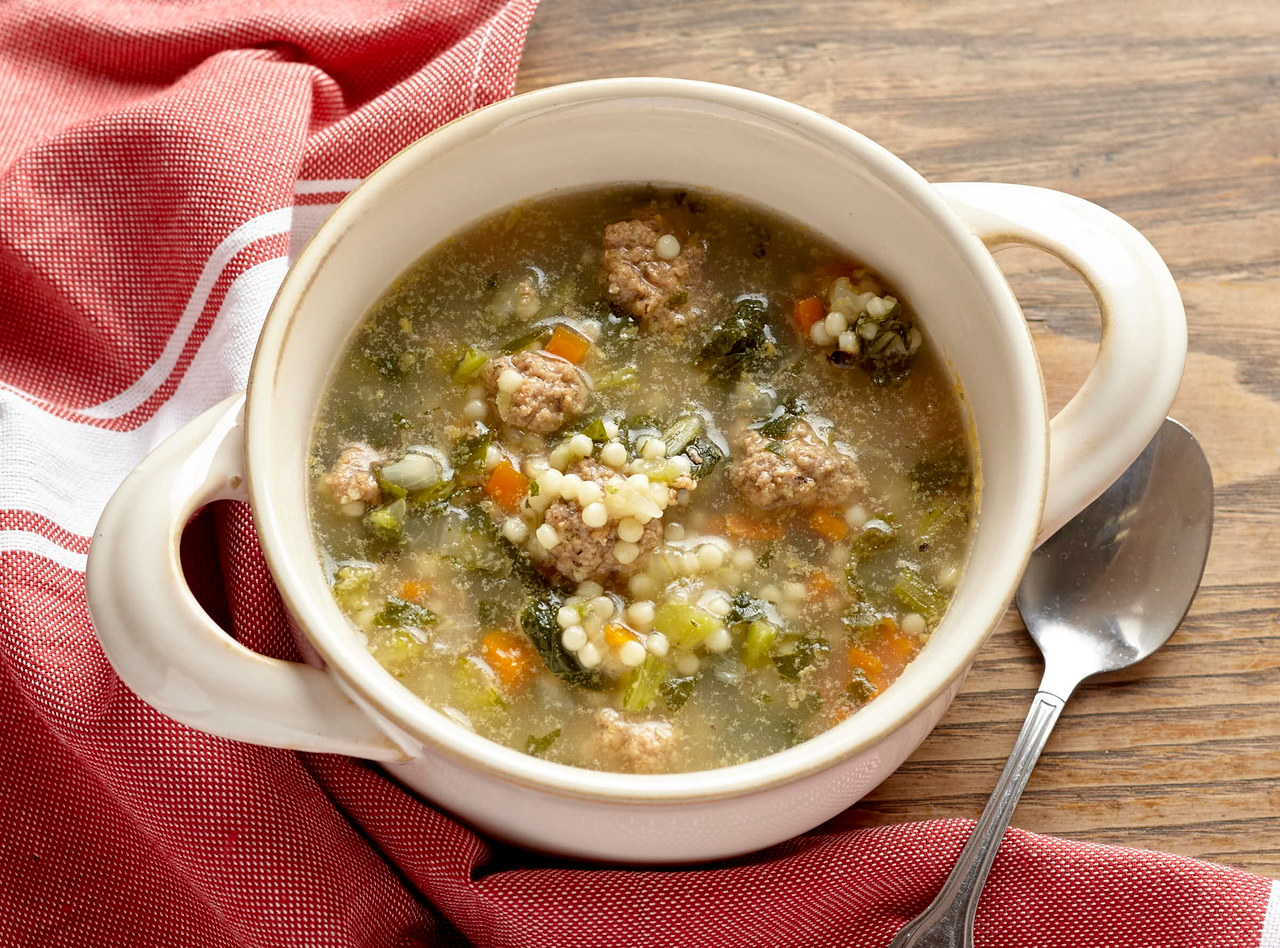 Italian Wedding Soup by Chef Jenn Strange