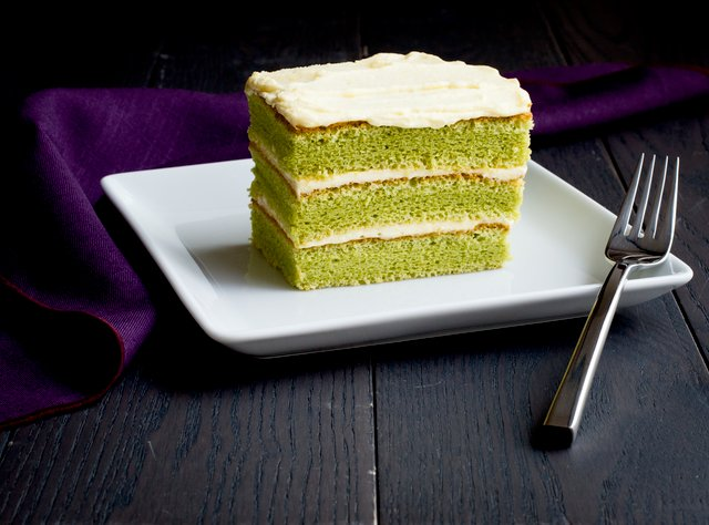 Pandan Layer Cake by Chef Chera Amlag