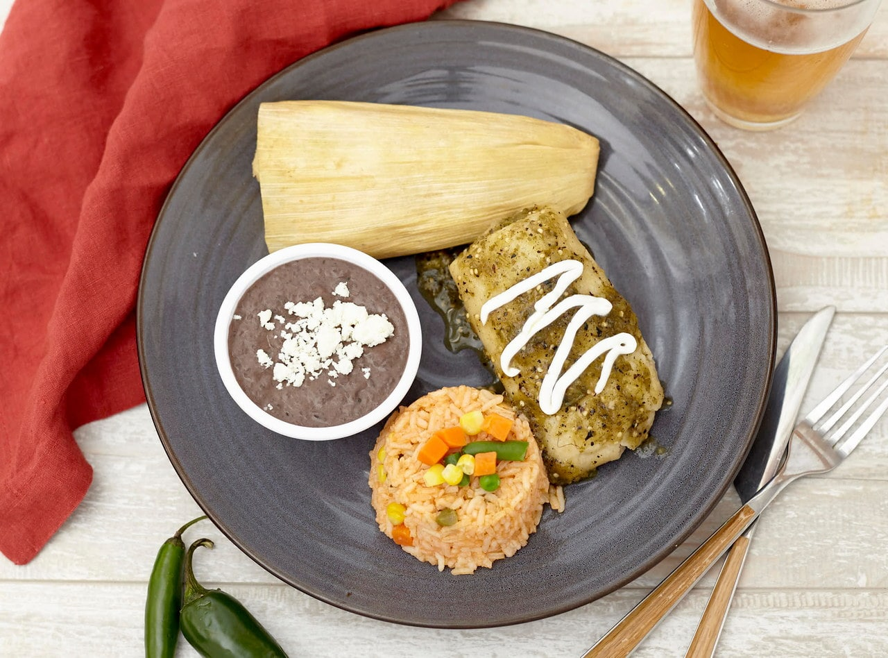 Vegetable Tamales Boxed Lunch by Chefs Frankie & Edgar
