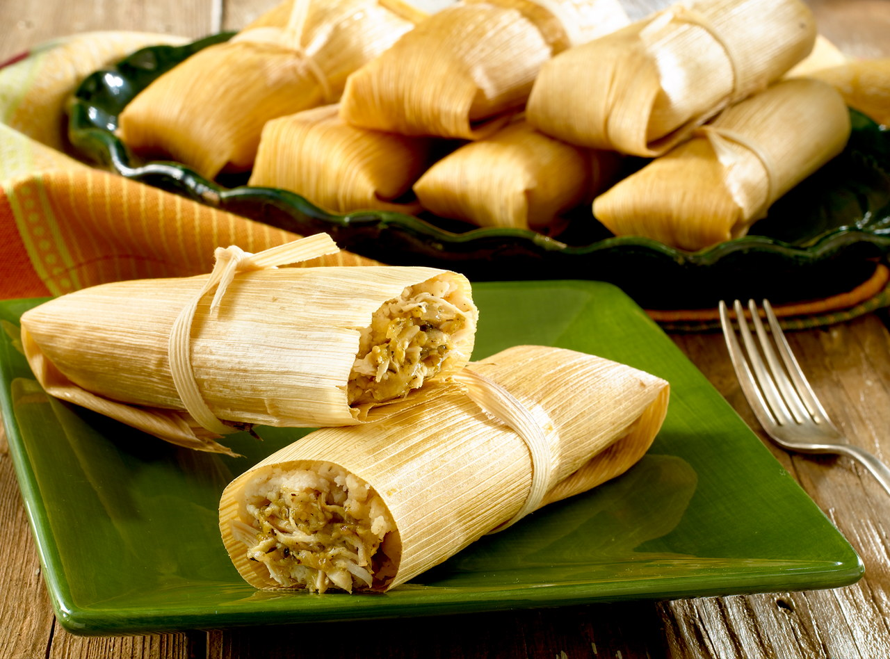Chicken Tamale Appetizer by Chefs Frankie & Edgar
