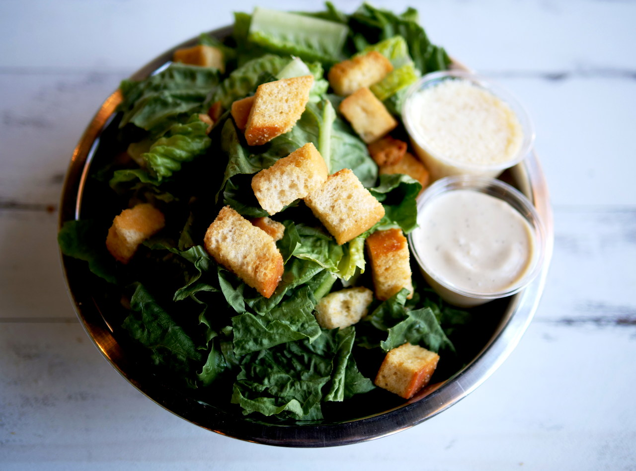 Flatstick Caesar Salad by Chef Ethan Stowell (FS)