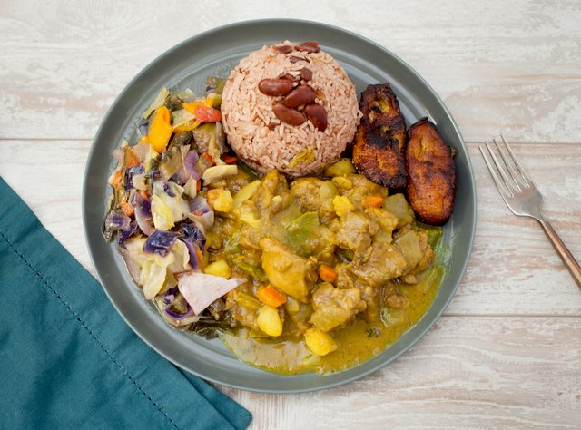 Jamaican Curry Chicken by Chef Jermain Andrew Blake