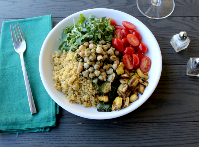 Mediterranean Chickpea Bowl by Chef Danny Rousso
