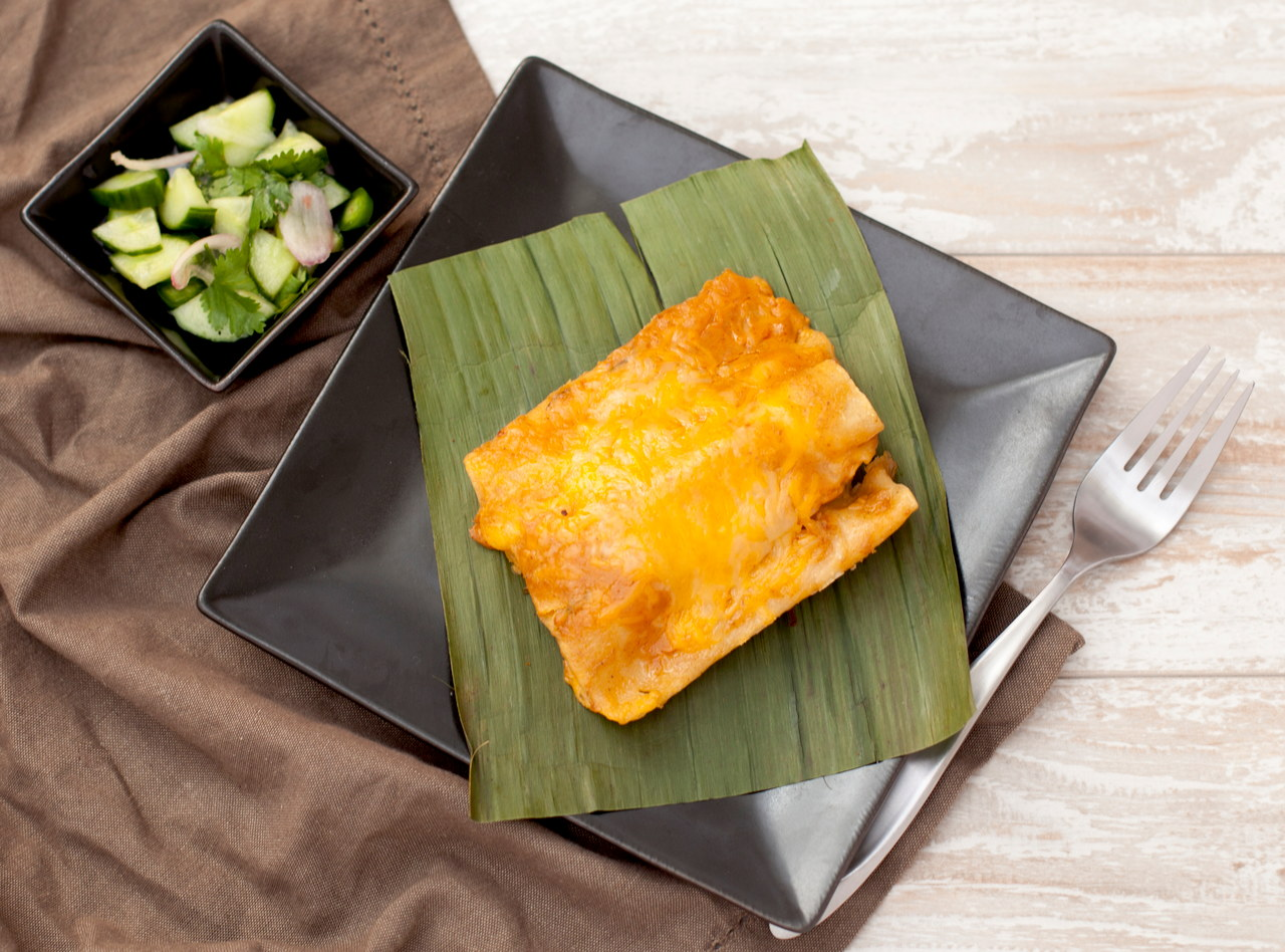 Kid's Cheese Enchilada by Chef Som Kesa
