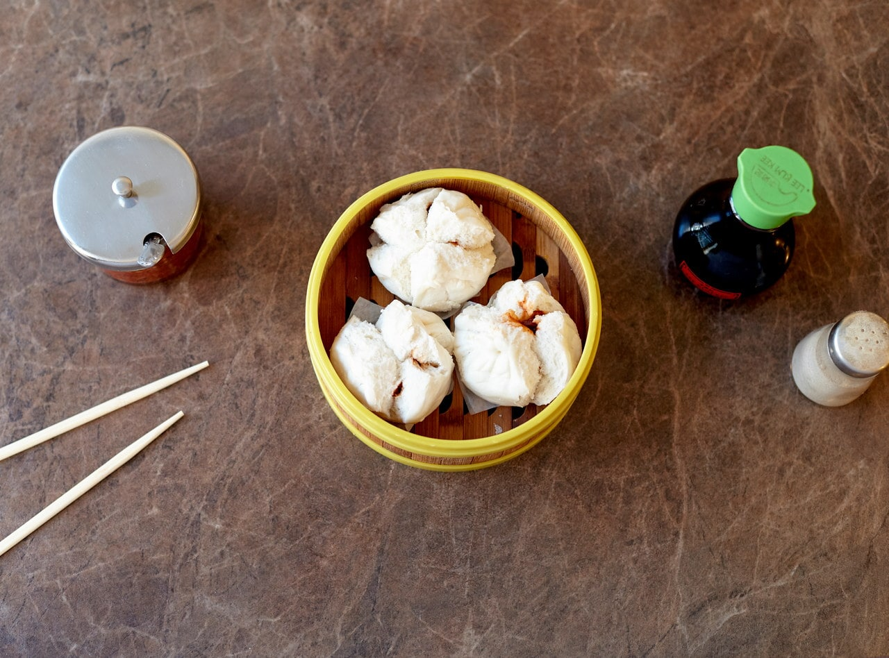 Steamed BBQ Pork Buns by Chef Han Ma