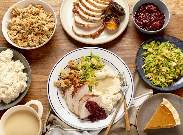 Vegetarian Thanksgiving Feast by Chef Aaron Andrews