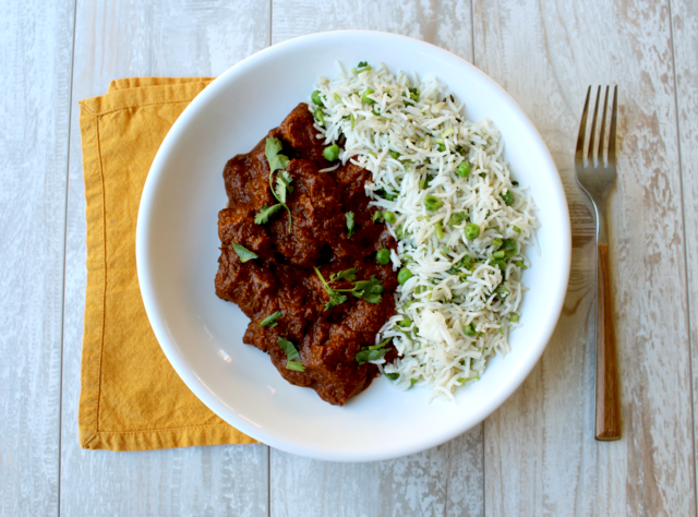 Pork Vindaloo by Chef Guru Sigdel