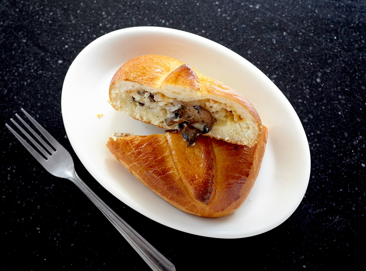 Piroshki with Mushrooms, Cheese and Rice by Chef Aly Anderson