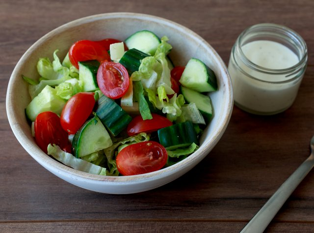 Simple Southern Side Salad by Chef Katie Cox