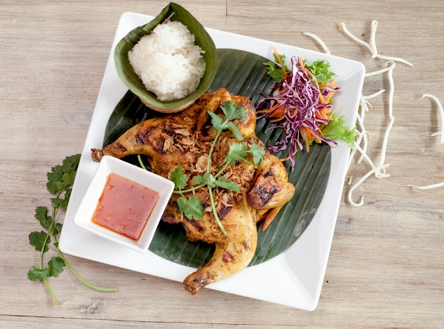 Thai BBQ Chicken by Chef Pik Kookarinrat