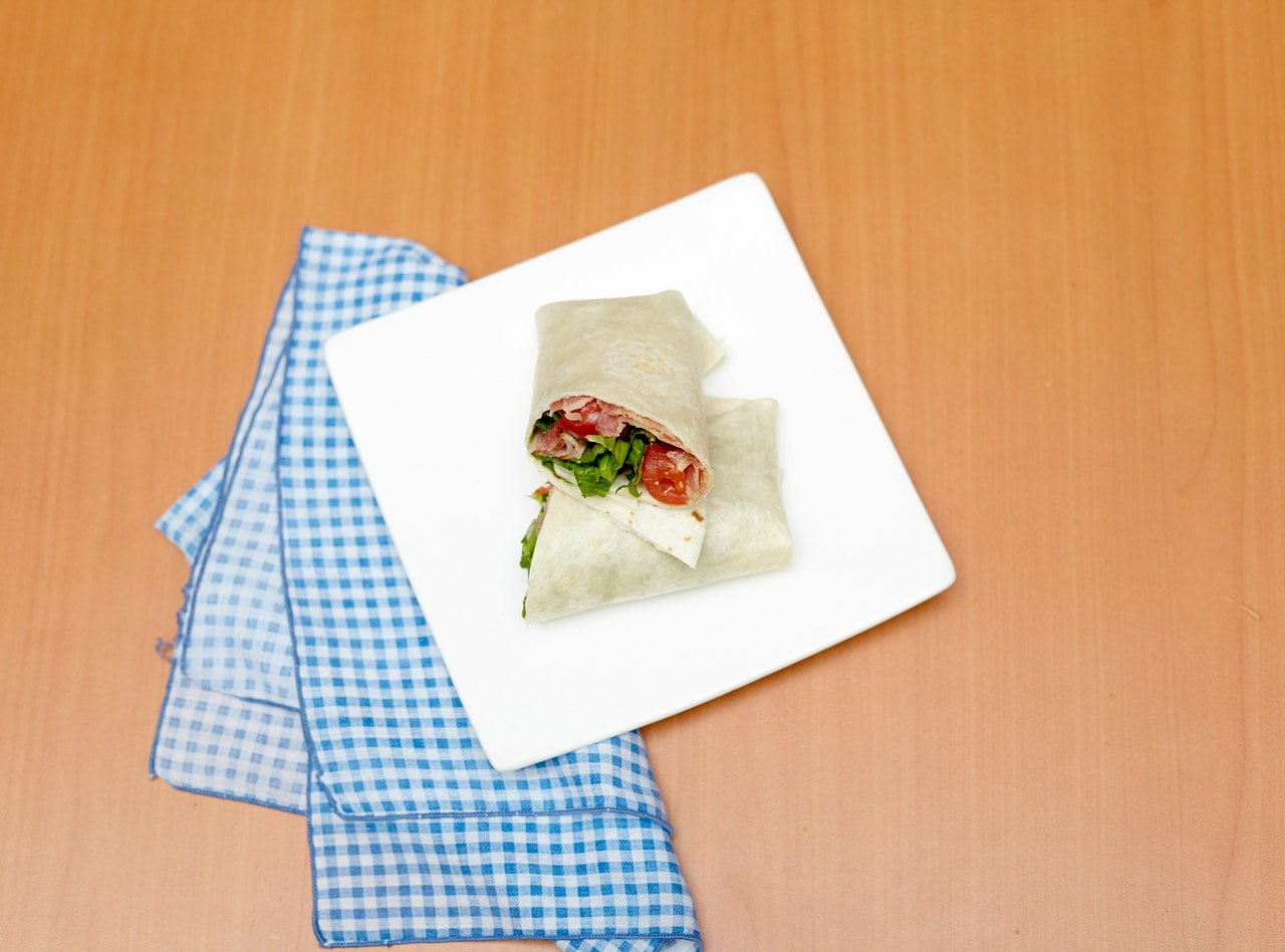 BLT Wrap by Chef Jesse & Ripe Catering Team