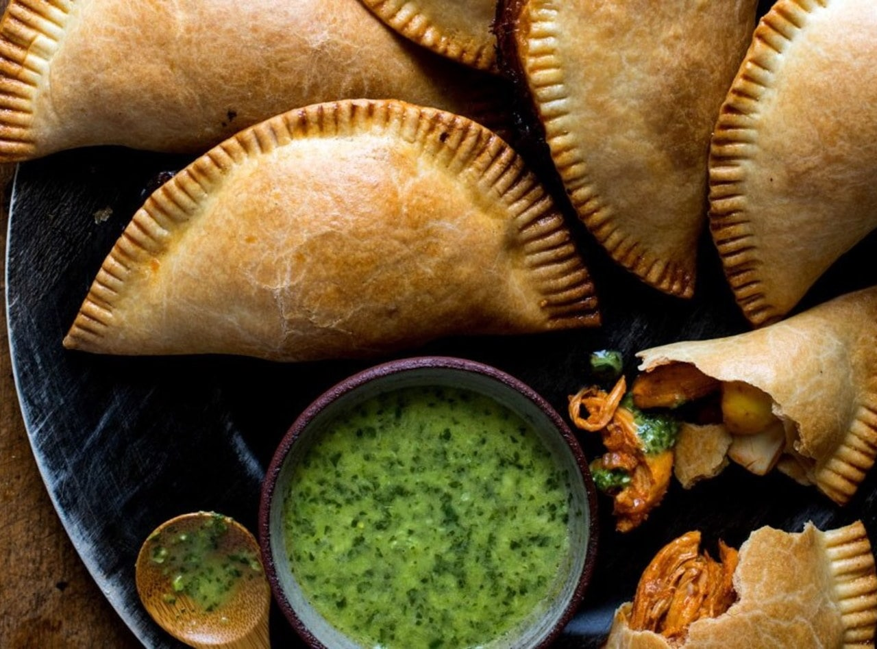 Traditional Beef Empanadas with Side Salad by Jack Rosenthal