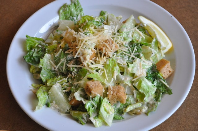 Caesar Salad (serves 10 as a side) by Chef Amir Razzaghi