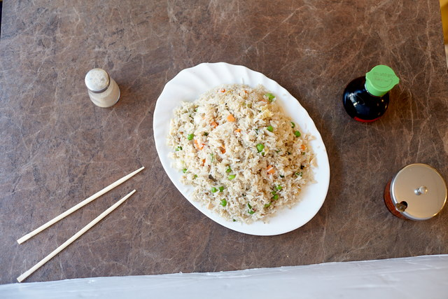 Chicken Fried Rice by Chef Han Ma