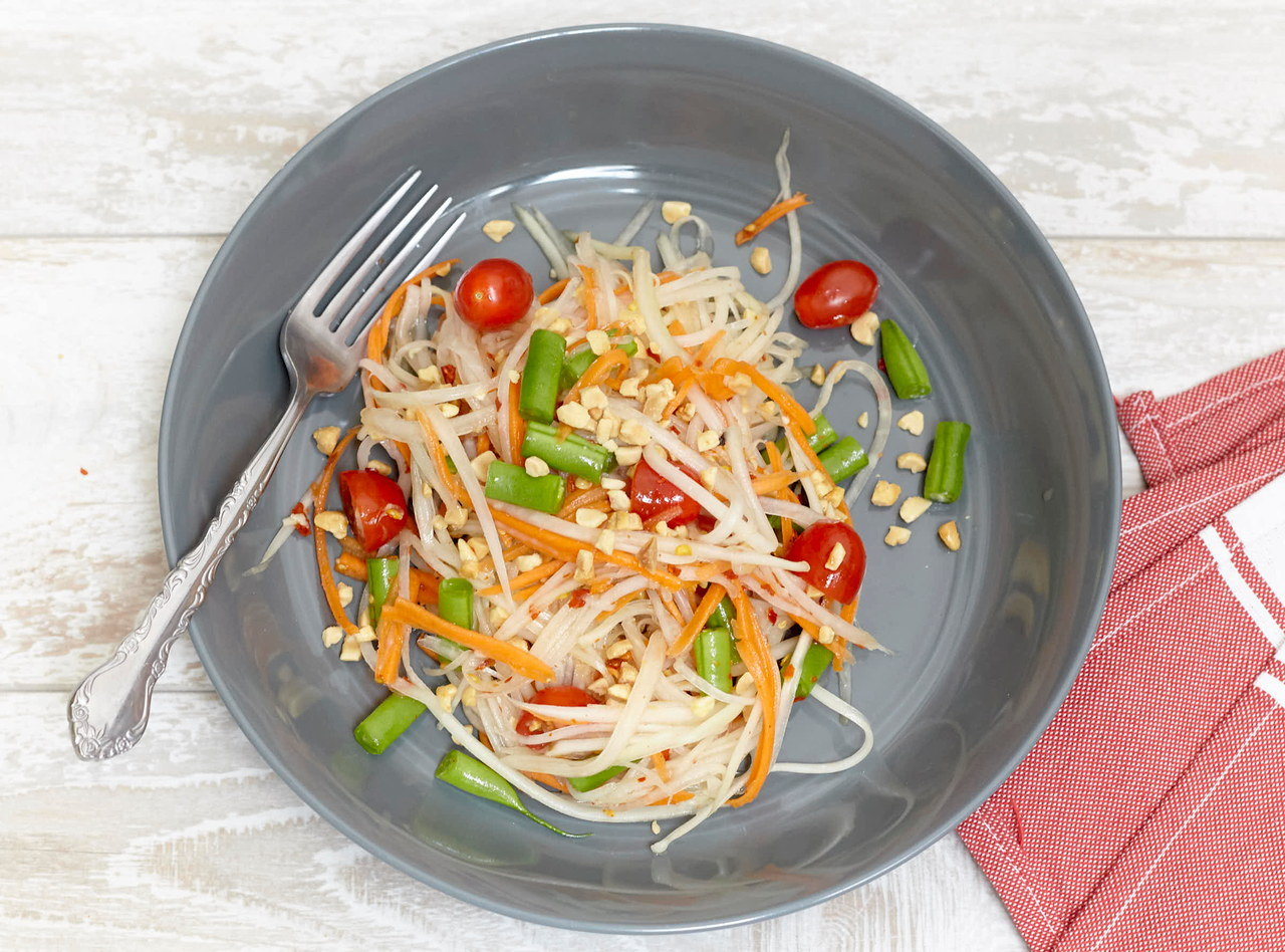Papaya Salad (side) by Chef Tanya Jirapol