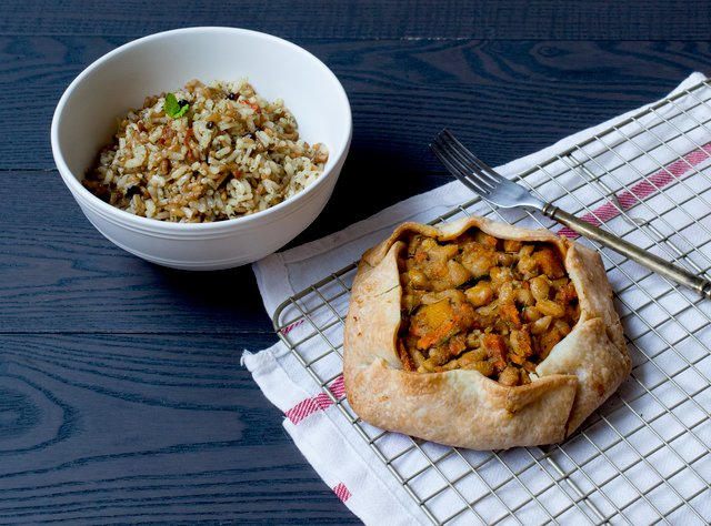 Moroccan Galette & Risotto by Chef Ariel Bangs