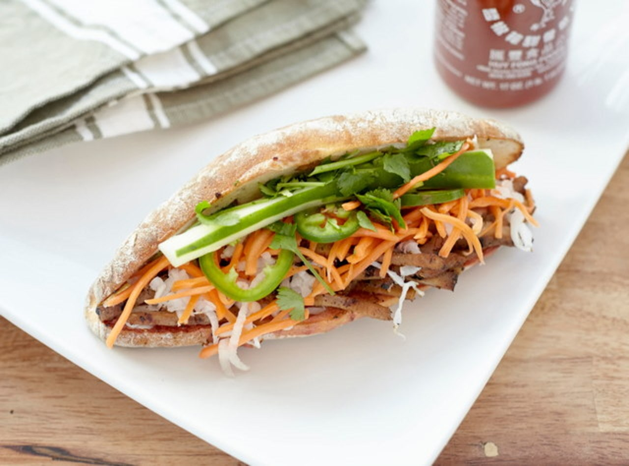 Dairy Free Chicken Banh Mi Boxed Lunch by Chef John Tran