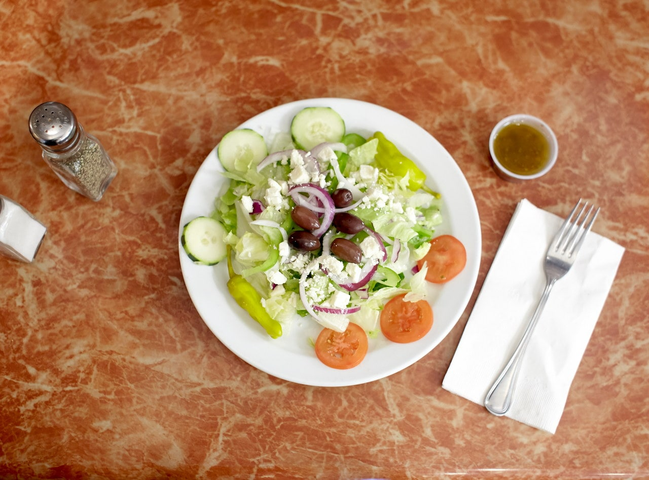 Greek Salad by Chef Amir Razzaghi