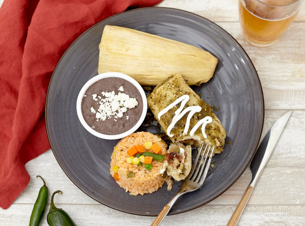 Vegetable Tamales by Chefs Frankie & Edgar