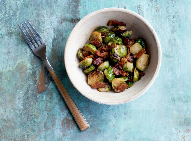 Sauteed Brussel Sprouts by Chef Larry Milner